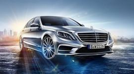 Lộ ảnh chính thức đầu tiên của Mercedes-Benz S-Class 2014