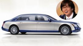 Sao Hàn thể hiện đẳng cấp bằng xe siêu sang Maybach