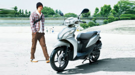 Honda Spacy thêm màu mới