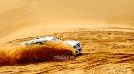 Cùng Mercedes GLK diesel chinh phục đồi cát