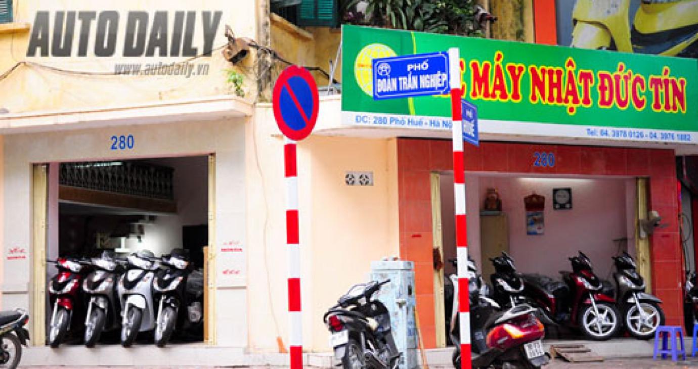 Xe tay ga nhập khẩu bị thất sủng ở Việt Nam
