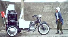 """""""Sốc"""" với chiếc xe máy chạy bằng... phân"""