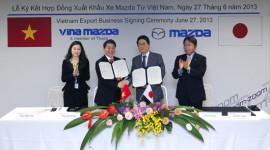 Vina Mazda sẽ xuất khẩu xe sang 3 nước Đông Nam Á