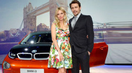 Cặp sao Hollywood hạng A tham dự lễ ra mắt BMW i3