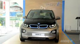 Cận cảnh xe điện BMW i3 đầu tiên tại Đông Nam Á