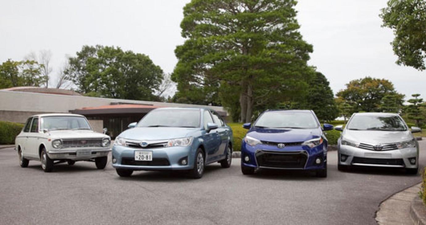 Hơn 40 triệu xe Toyota Corolla được bán trên toàn thế giới