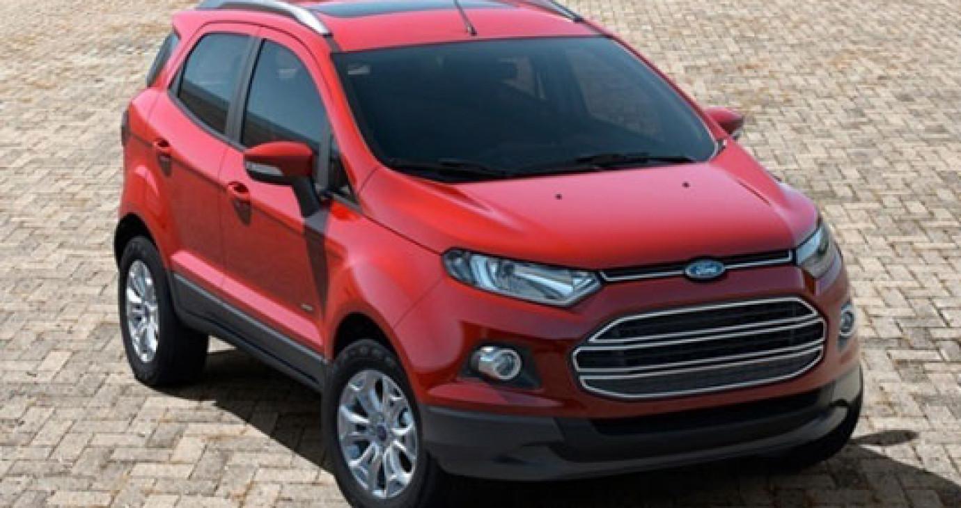 """Ford tăng giá bán """"hàng hot"""" EcoSport"""