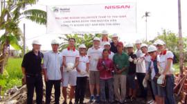 Nissan Việt Nam tiếp tục chung tay làm từ thiện