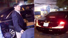 Siêu giàu, bố chồng Tăng Thanh Hà đi xe gì?