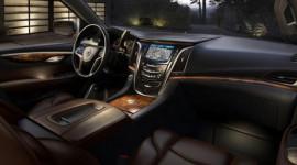 Lộ hình ảnh nội thất Cadillac Escalade 2015