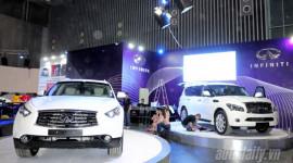 VMS2013 - Xế sang hội tụ trước giờ khai màn triển lãm ôtô Việt Nam