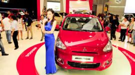 VMS2013 – Xe nhỏ Mitsubishi Mirage có giá từ 440 triệu đồng