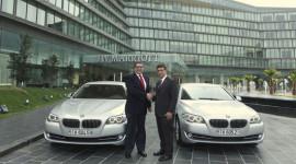 BMW Euro Auto bàn giao xe 5-Series cho khách sạn 5 sao