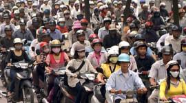 Năm 2020 sẽ tiến hành cấm xe máy