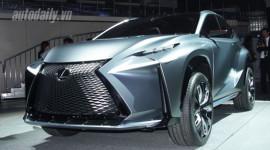 Lexus trình làng RC 300h Hybrid và LF-NX